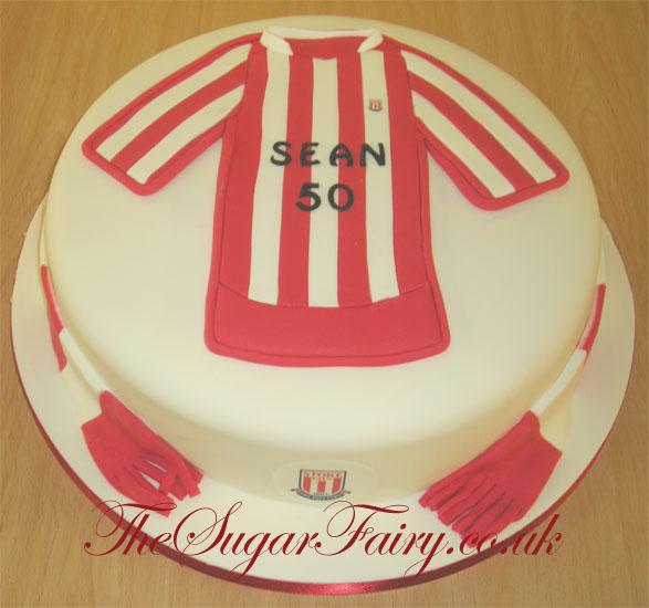 Cake Making Classes Stoke On Trent : Pin Stoke City Fc Swansea Manchester Tottenham Cake on ...